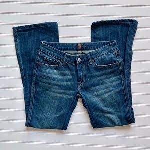 "7 for All Mankind Bootcut ""A"" Pocket Jeans"